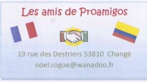 Logo les Amis de Proamigos