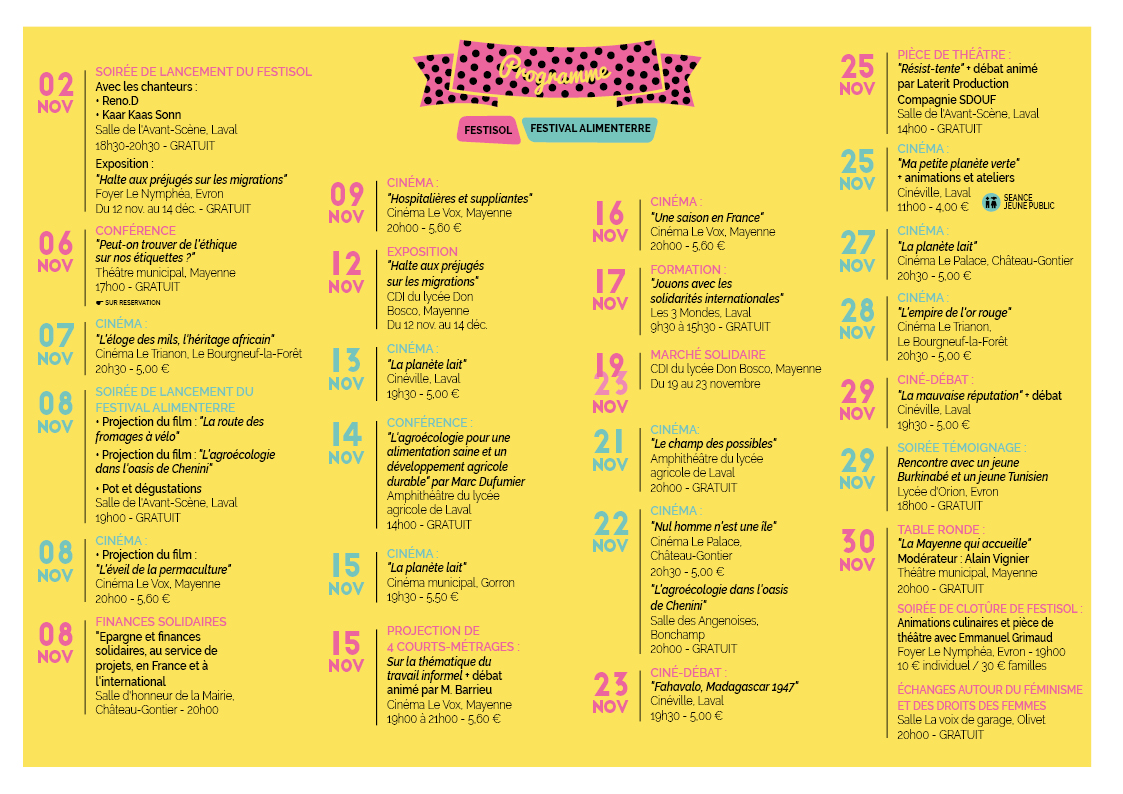 Livret_FESTISOL-ALIMENTERRE(programme)bis